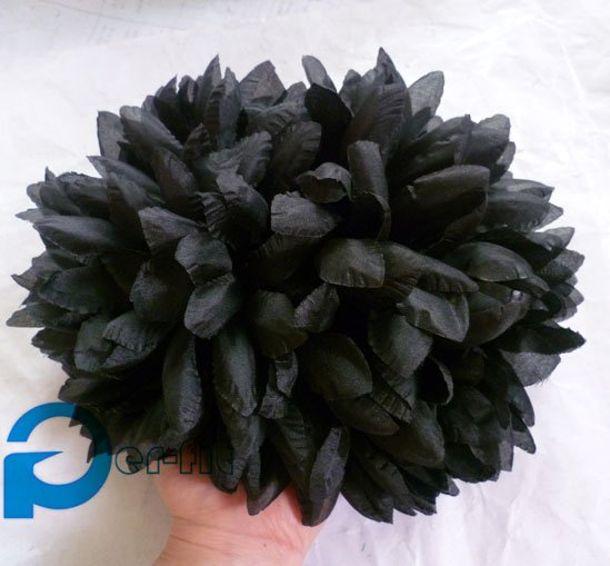 big flower hijab clip hair claw flower khaleeji volumizer 18cm big hair flower 15pcs/lot