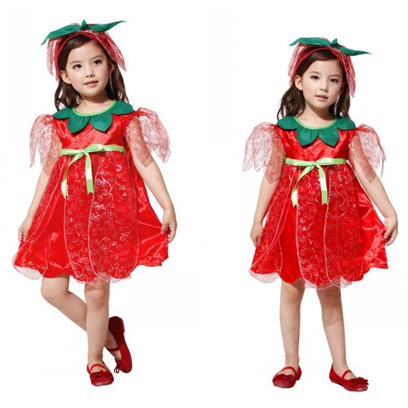 2 цвета Обувь для девочек принцесса мастер Косплэй Дети Хэллоуин Цветочная фея костюмы Детский день этап выступлений праздничное платье