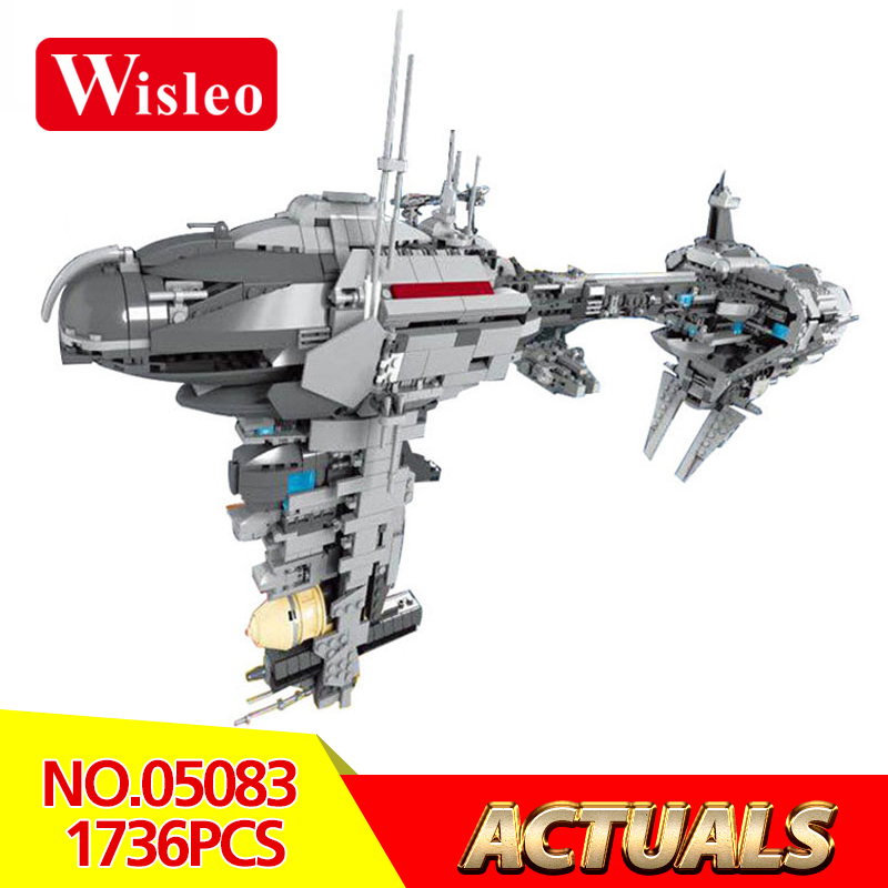 Wisleo 05083 Star Wars Cool Dental starships Educational Model Building kits Blocks LegoINGlys Bricks Toys for children gift 2017 neue lepin 05083 star cool spielzeug wars dental kriegsschiffe 1736 stucke educational building blocks bricks spielzeug mod