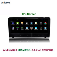 8 8 Inch 1280 480 Android 4 4 2 Din CAR DVD Player Radio Stereo GPS