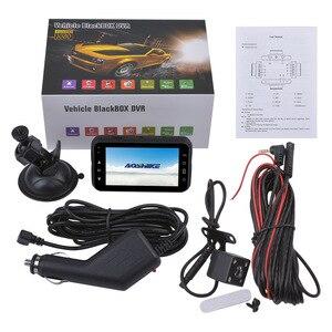 Image 5 - AOSHIKE 3 InchTouch HD 1080P samochodowy rejestrator do lusterka wstecznego 720P pojedynczy rekord wyświetlacz samochodowy DVR kamera samochodowa TFT LCD