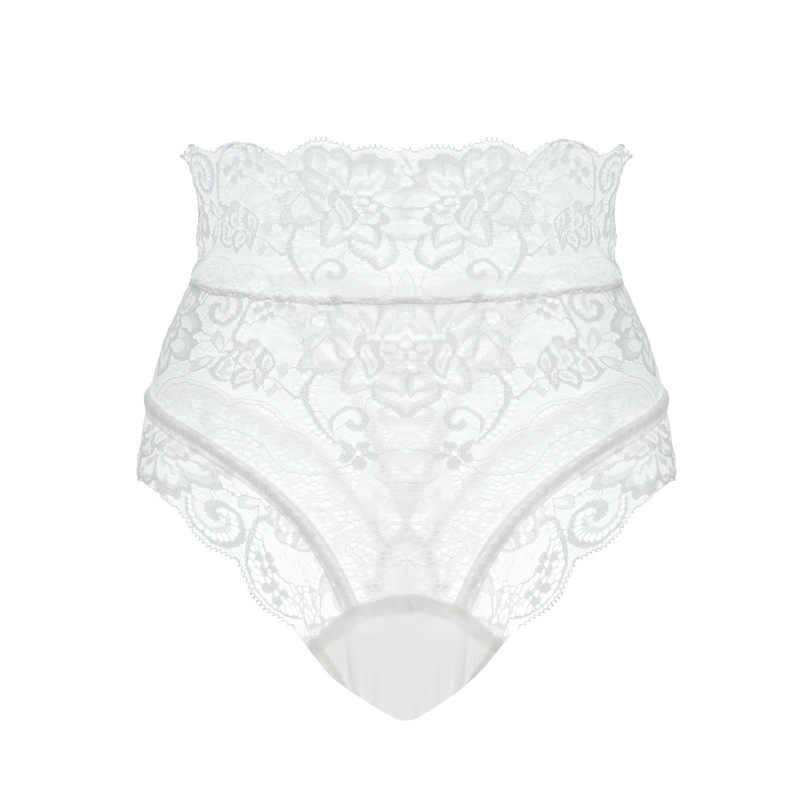 Zwart/Rood/Wit Kant Slipje Voor Sex Vrouwen Transparante Ondergoed Hoge Taille Bandage Thongs Sexy Lingerie Hollow Out onderbroek