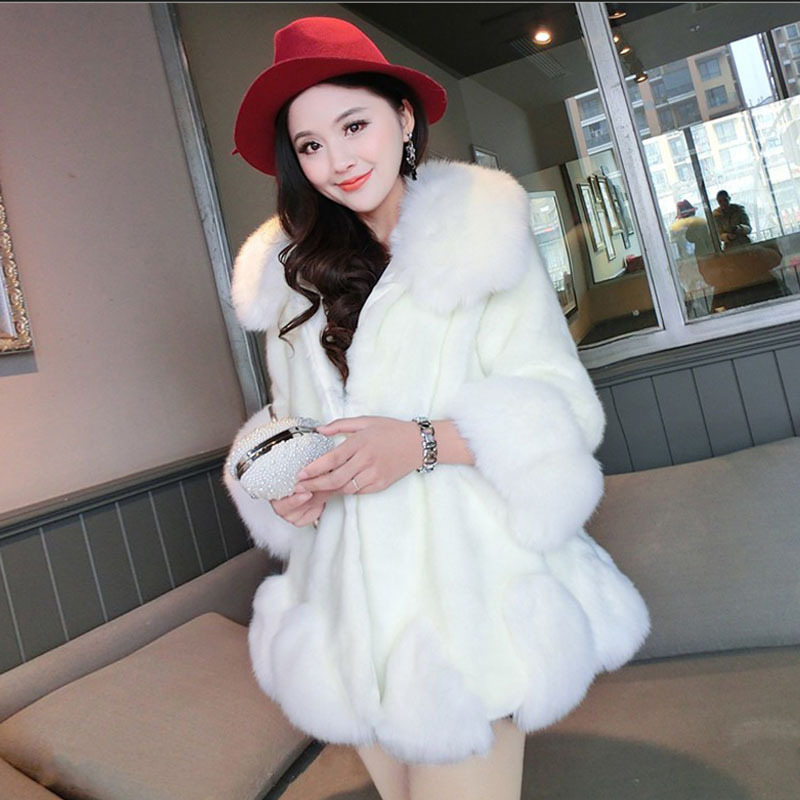Popular Long White Faux Fur Coat-Buy Cheap Long White Faux Fur ...