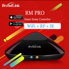 Broadlink RM33 RM Pro WiFi Wireless Remote Automation Smart House Intelligent Controller WIFI+ IR+ RF Switch for IOS Android APP