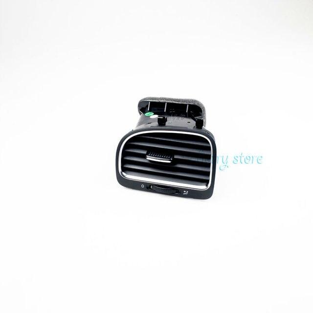 VW OEM Black Left Side Dashboard Air Outlet Vent For VW Golf GTI Variant 6 MK6 MKVI 5K0 819 703 K (Left)