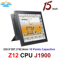 Partaker Elite Z12 Intel Celeron J1900 15 Inch Touch Screen All In One Touch PC with 6*COM