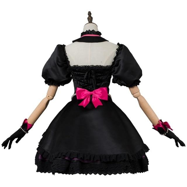 OW Game Cosplay Hana Song  DVA Cosplay Costume OW DVA Black Cat Officer Dress Cosplay Costume Halloween Carnival Cosplay Costum 4