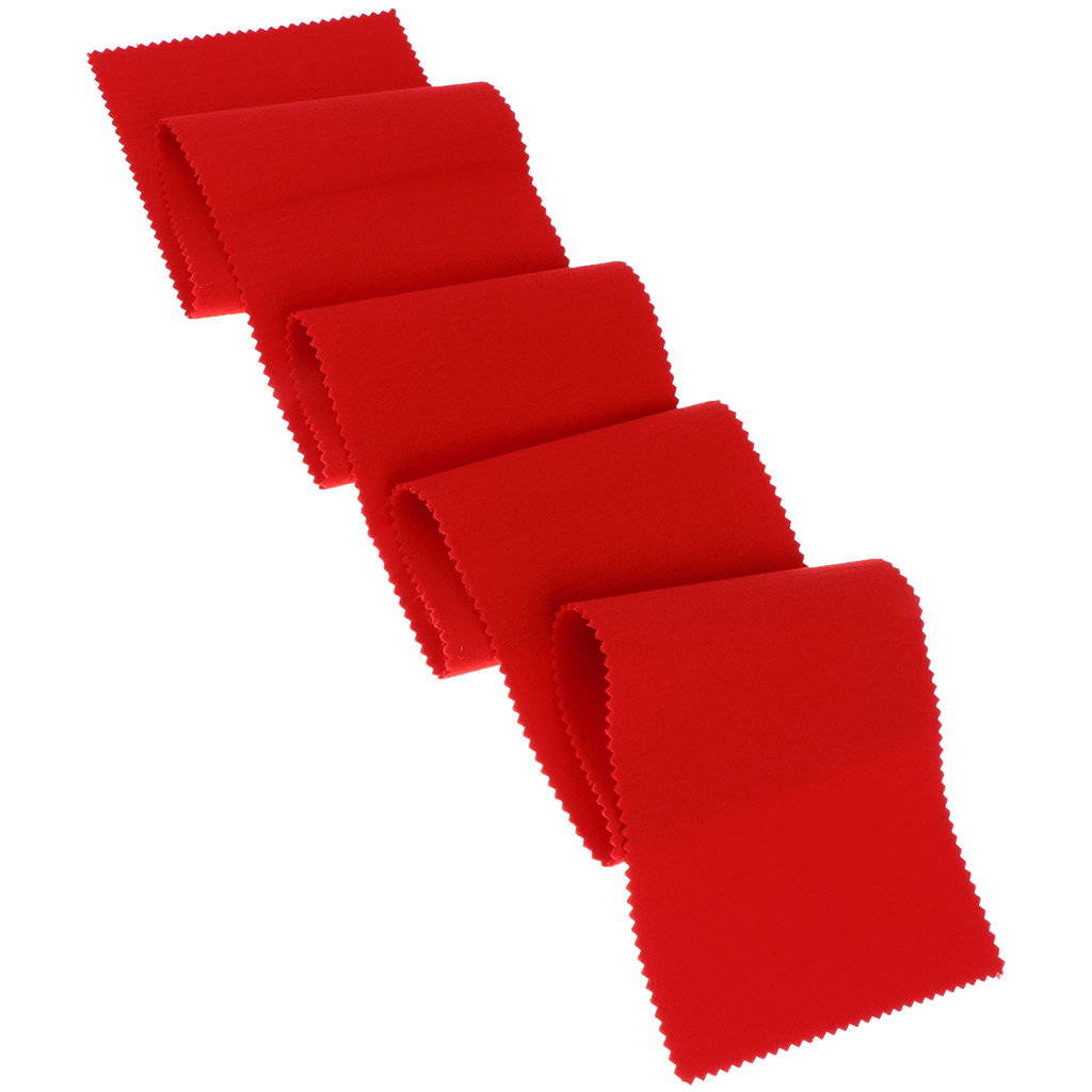 Red Felt Piano Key Cover Keyboard Dust Cover Protect Keyboard Woodwind Instruments Parts