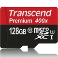 Brand new sealed Transcend 128GB Micro SD card Class 10 UHS-1 SDXC High Speed Up to 60MB/s TF Cards 128 GB Flash Memory Card