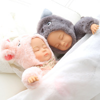25/35 см Sleepy кукла сна моделирование комфорт ушастая кролика и медведя спать плюшевые куклы
