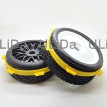 2 шт., лента для монтажа шин для 1/8 Багги и 1/10 коротких радиоуправляемых автомобилей
