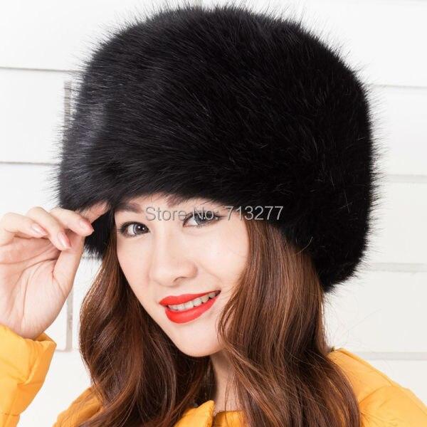 Warm Winter Hat 2017 Imitation Fur Hat Fashion Faux Fur Cossak - Հագուստի պարագաներ - Լուսանկար 6
