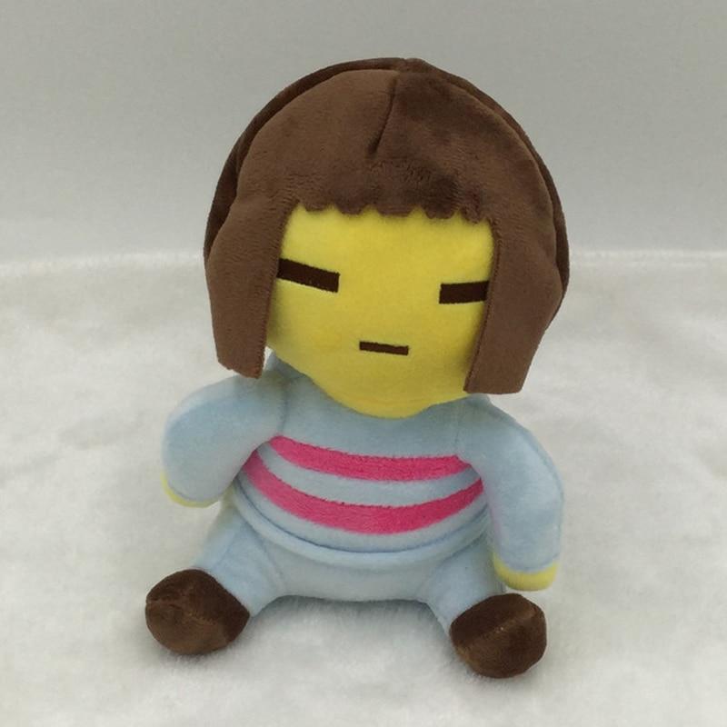 1 pcs Undertale Plush Toys 20 cm Undertale Chara & Frisk Plush Doll Toy  Soft Stuffed Toys for Children Kids Christmas Gifts