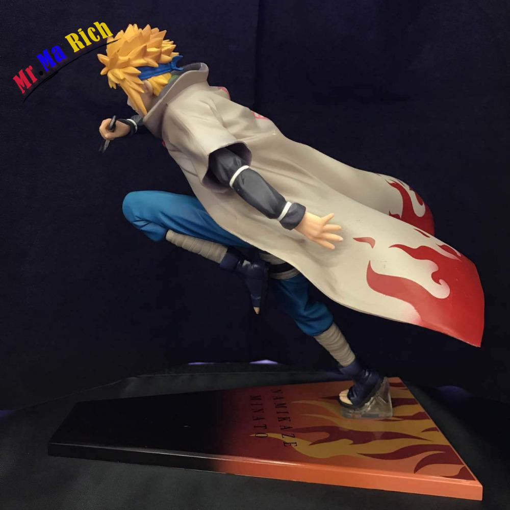 Anime 21cm Naruto Shippuden Namikaze Minato 1/8 Scale Pvc Action Figure Collectible Model Toy