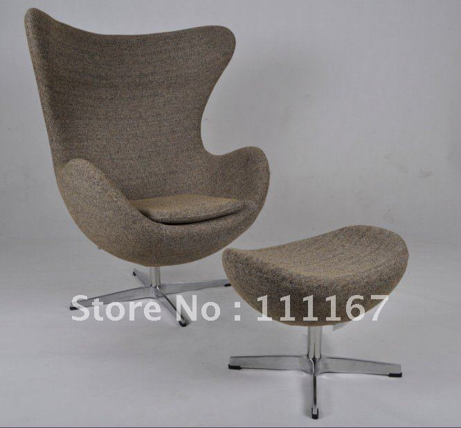 Arne Jacobsen Egg Chair With Tilting Function In Living Room Chairs From  Furniture On Aliexpress.com | Alibaba Group