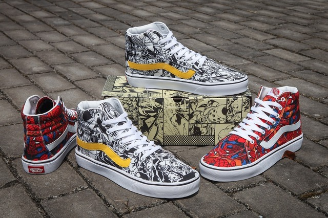 Original vans new skool men and womens sneakers canvas shoes pattern takayuki weight lifting tc size also rh aliexpress