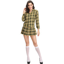 New Arrival Scottish Women Costume Cosplay National Adult College Style Suit Halloween For