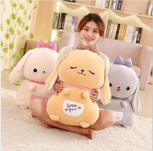 WYZHY rabbit doll pillow plush toy sofa decoration to send friends and children gifts 60CM