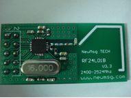 NRF24L01 2, 4G беспроводной модуль приемопередатчика PTR6000 51 код AVR
