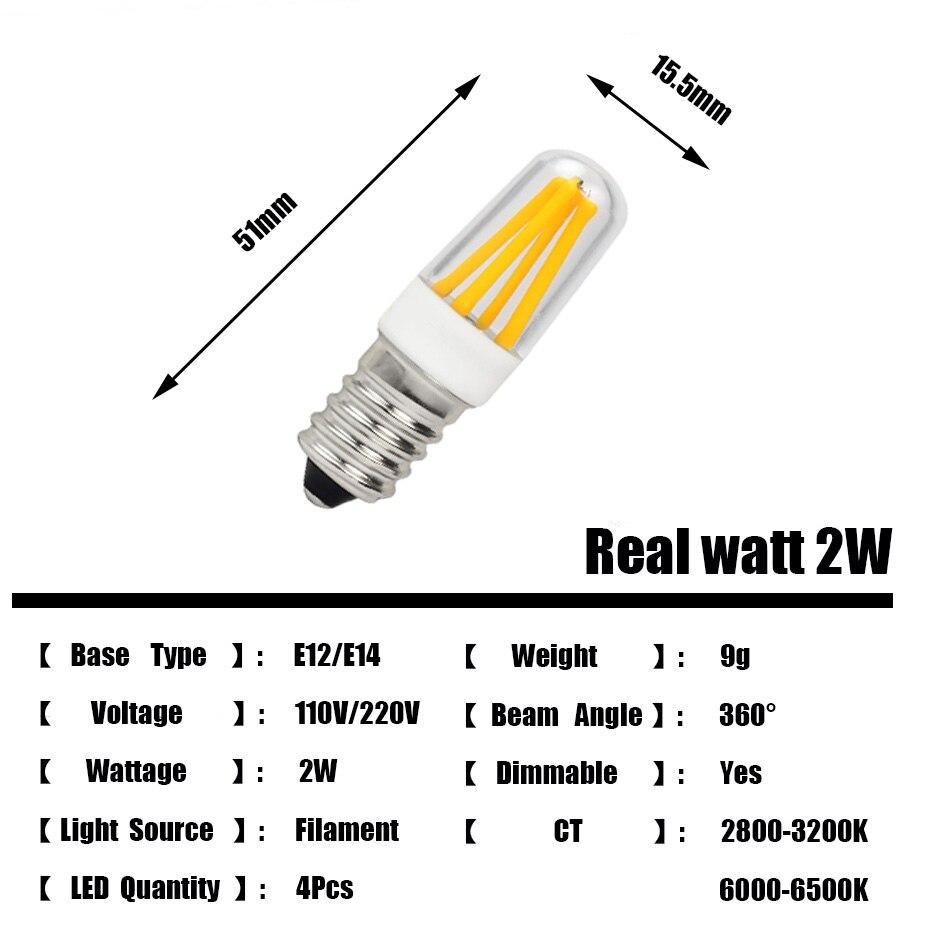 Lâmpadas Led e Tubos geladeira lâmpada led filamento da Lâmpada Led : Lâmpada de Refletor
