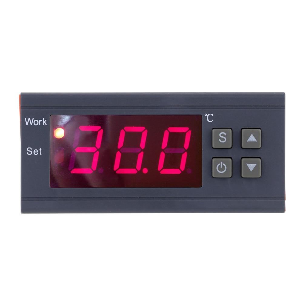 250 V 10A termómetro Digital termoregulador para la incubadora de controlador de temperatura-50 ~ 110 grados Celsius, termostato con Sensor