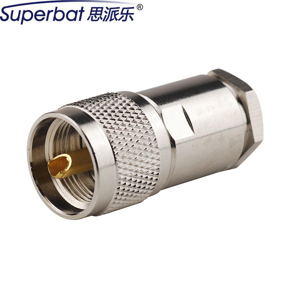 bilder für Superbat Hf-koaxial-stecker UHF twist auf steckverbinder für RG8, RG213, RG214, LMR400 Kabel