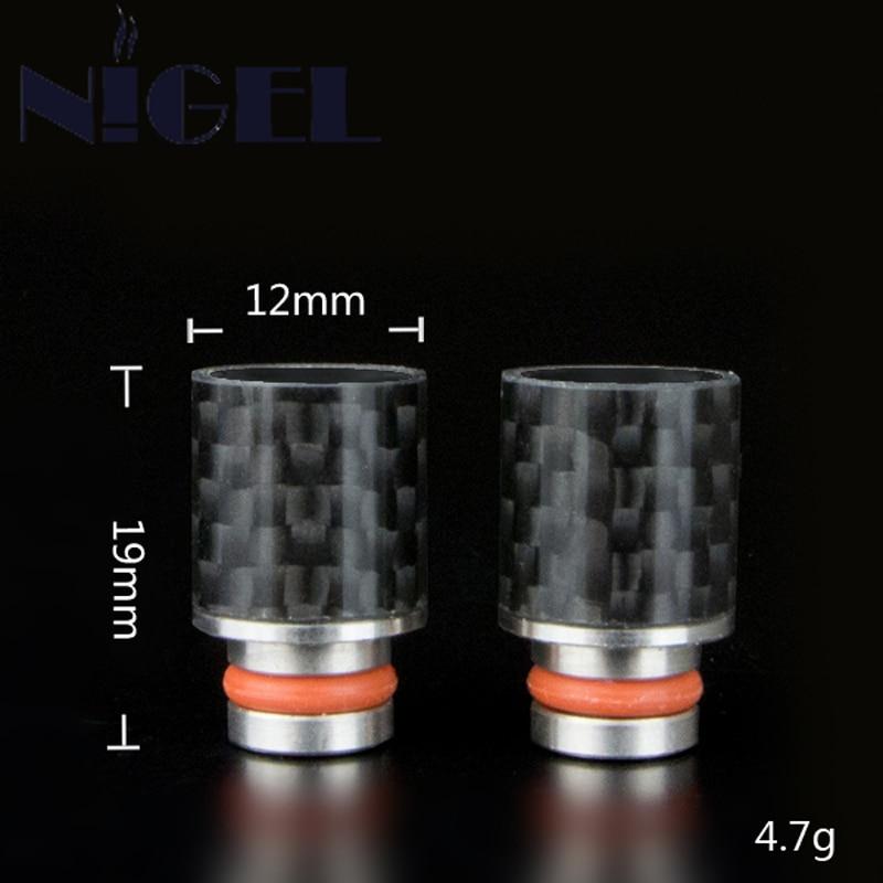 ugljični vlakno Široki provrti usnika za usta Tip za kapanje 510 - Elektronske cigarete - Foto 1