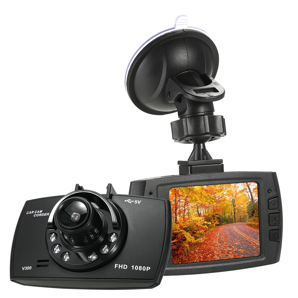 Full HD 1080 P Voiture DVR Caméra G30 140 Degrés Dashcam Vidéo Greffiers pour Voitures Nuit Vision/G-capteur/Détection de Mouvement Dash Cam