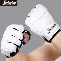 Professional Adult Children Taekwondo Gloves Hand Protector WTF Sanda Karate Boxing MMA Gloves For Kids Traing