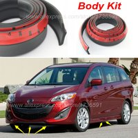 For Mazda 5 Mazda5 Premacy / Bumper Lips / Spoiler For Car Tuning / Body Kit Strip / Front Tapes / Body Chassis Side Protection