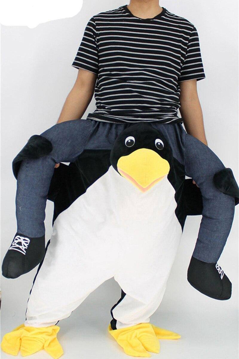 Забавный костюм пингвина на Хеллоуин, пижама, новинка, костюм для костюмированной вечеринки с изображением животных, пингвина из мультфиль