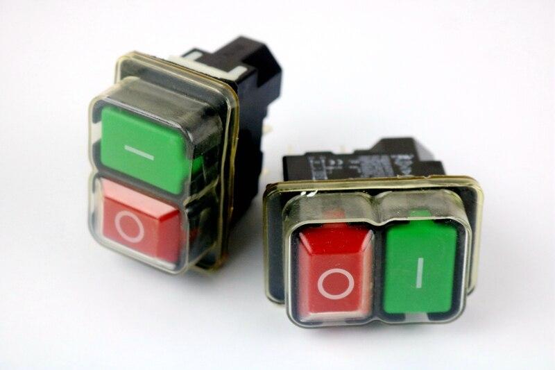 2PCS 220-240v 16A safety switch, KJD17B 16 240 1064355