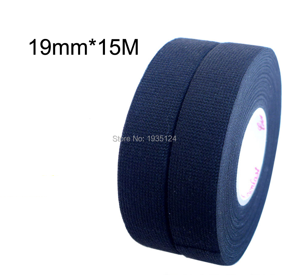 19mmx7m Universal Flannel Fabric Cloth Tape Automotive Wiring Supplies 19mmx15m Harness Flannelet Glue High Temperature