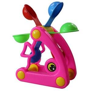 Image 5 - 1 шт., милые ветряные мельницы, водяные колеса, летние игрушки для игры в песочную воду, бассейн для купания, пляжные вечерние игрушки для детей, игрушки для ванной, случайный цвет