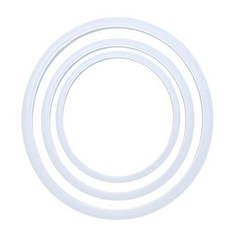 18 20 22cm pokrywka silikonowa pierścień gumowy szybkowar uszczelki wymiana elektryczna kuchnia szybkowar uszczelka części tanie i dobre opinie EH-LIFE JA976190 Zaopatrzony Ekologiczne Ce ue RUBBER Uchwyty i pokrętła Replacement Gaskets Cookware parts 1 Pcs