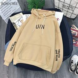 Hoodies Women Winter Thicken  Ulzzang Kawaii Long Sleeve Womens Pullover Cartoon Printed Hooded Students Ladies Sweatshirts 3