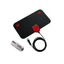 25DB Độ Lợi Cao HD Camera DTV Hộp Truyền Hình Kỹ Thuật Số Ăng Ten 1080P Trong Nhà HDTV Ăng Ten Trên Không Mini DVB T/T2 174 240 MHz 470 862 MHz