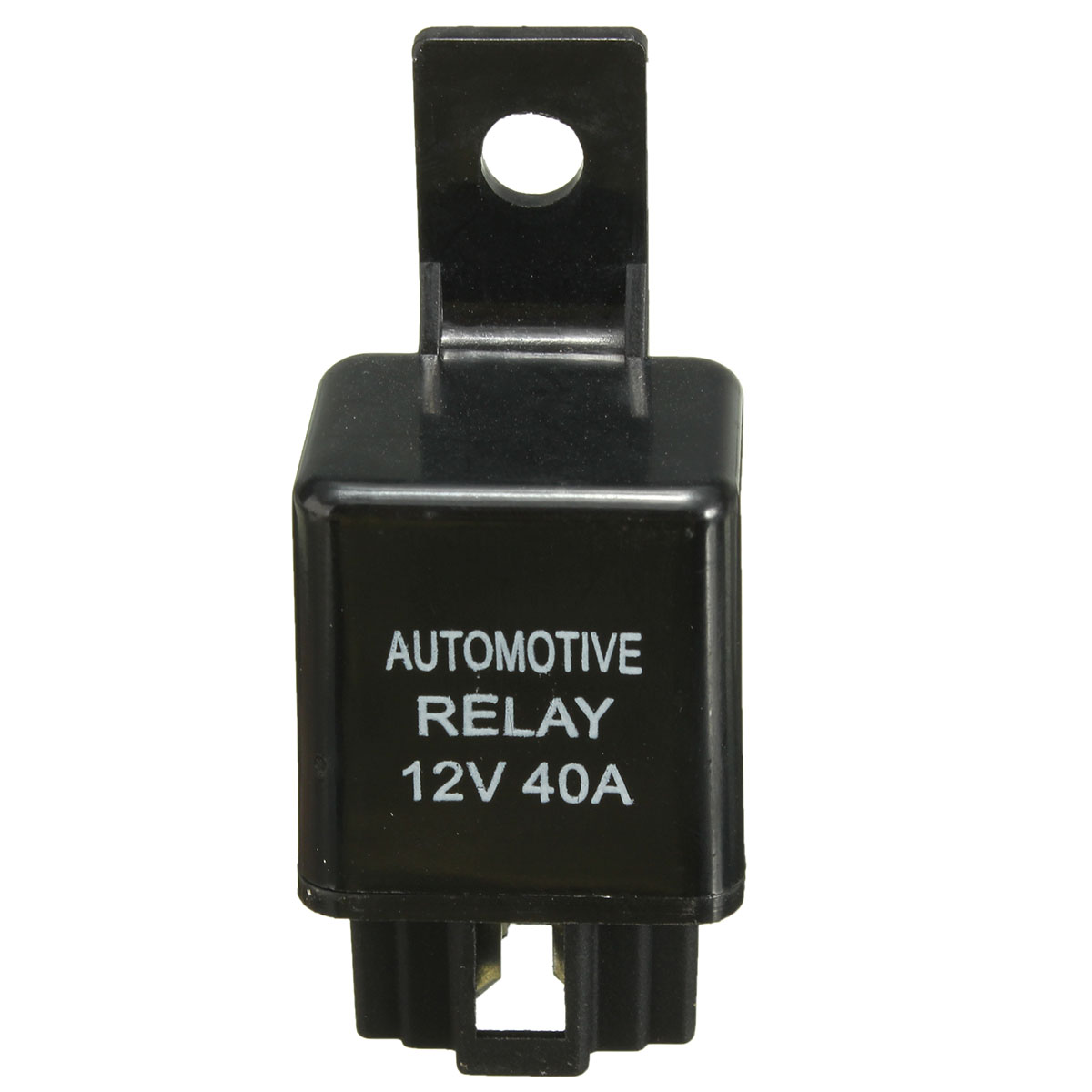 12v 40a 40 Amp Car Auto Automotive Van Boat Bike 4 Pin Spst Alarm Relay