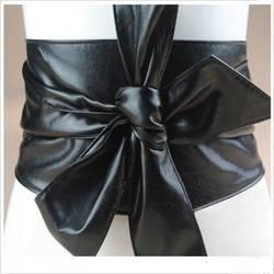 2019 новый для женщин Мода покрытие из искусственной кожи вокруг галстук широкий пояс корсет кожаные ремни-пояса группа 6 цветов