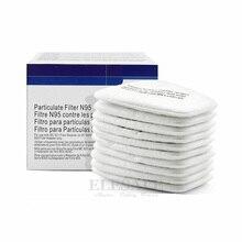 10 шт. 5N11 N95 хлопковый фильтр 501 Масляный Фильтр Крышка Сменный Для 6200/7502/6800 респиратор химический респиратор картина распыления