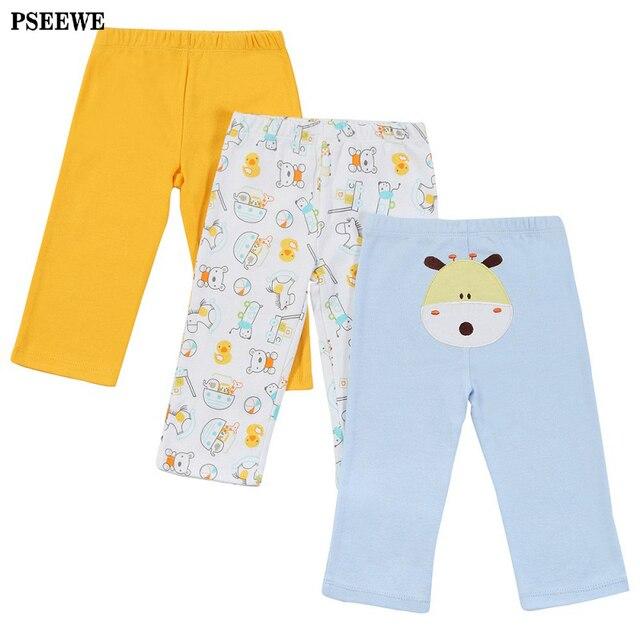 3 Pcs/lot Autumn winter Pants for Baby 2016 baby boy trousers 100% Cotton Infant Leggings Baby Boy Girl Pants bebe pp pants