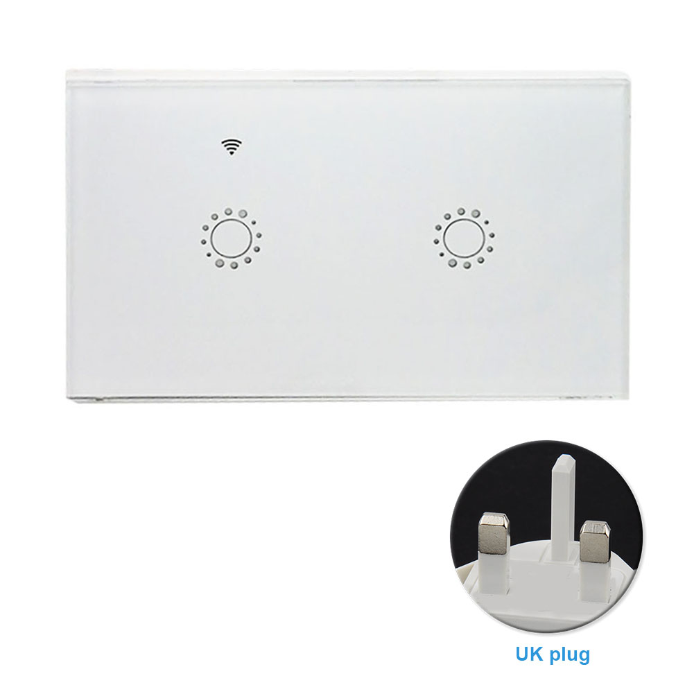 Bedroom Replacement WIFI Smart Wireless Wall Light Accessories Universal APP Remote Timing Switch Panel Voice Control Home ABS Karachi