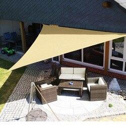 3 M Sol al aire libre refugio toldo impermeable triángulo tienda Canopy jardín playa Picnic campamento Shade Tarp viaje toldo sombrilla Gazebo