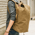 Impermeable mochila de lona mochilas lindo bolsas de lona bolsas de cubo personalizada mochilas mochila escolar mochila escolar de color caqui negro