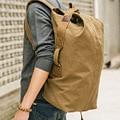 Waterproof canvas backpack cute backpacks duffel bags bucket bags custom backpacks black school backpack khaki mochila escolar