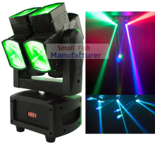 2017 New Dual Heads Moving Head Light Eight Lenses Both Head and Yoke Rotates Continuously 360 Degrees Pixel Control on Each Led