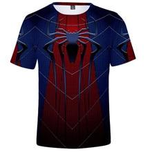 Male 3d Spider Man Far From Home T Shirt 2019 Endgame Mens Tshirts Summer Harajuku Anime Shirt Realm Tops Tees Man Casual XS-5XL