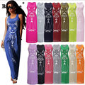 RealShe Women Summer T Shirt Dress 2017 Round Neck Print Sexy Bodycon Bandage Party Dress Long Casual Loose Vestidos