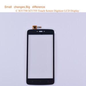 "Image 2 - Super Qualität 5,0 ""Für Motorola Moto C Touch XT1750 XT1755 XT1754 XT1756 Touchscreen Digitizer Front Glas Panel Sensor schwarz"
