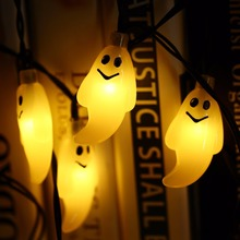 30 Led Ghost Solar String Lights
